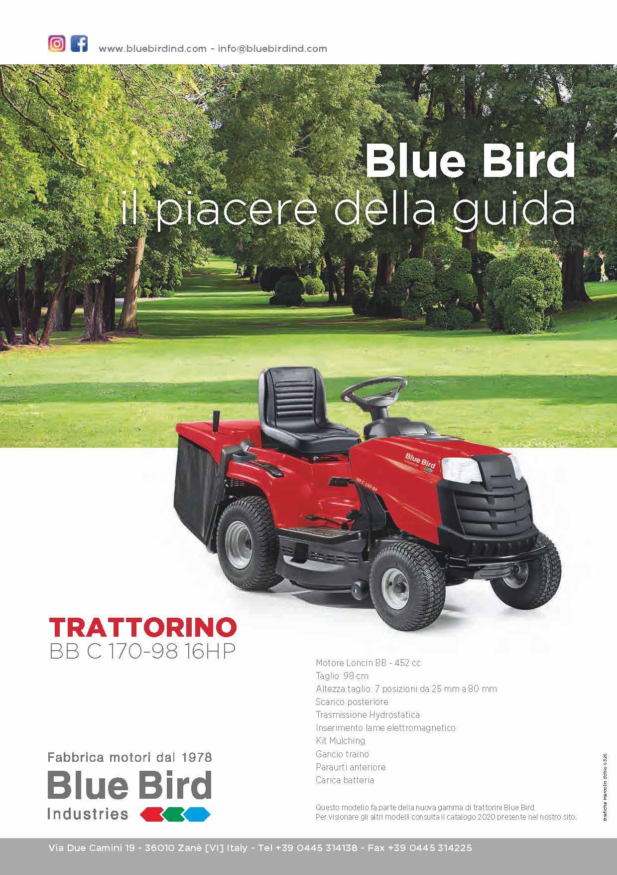 banner BLUE BIRD